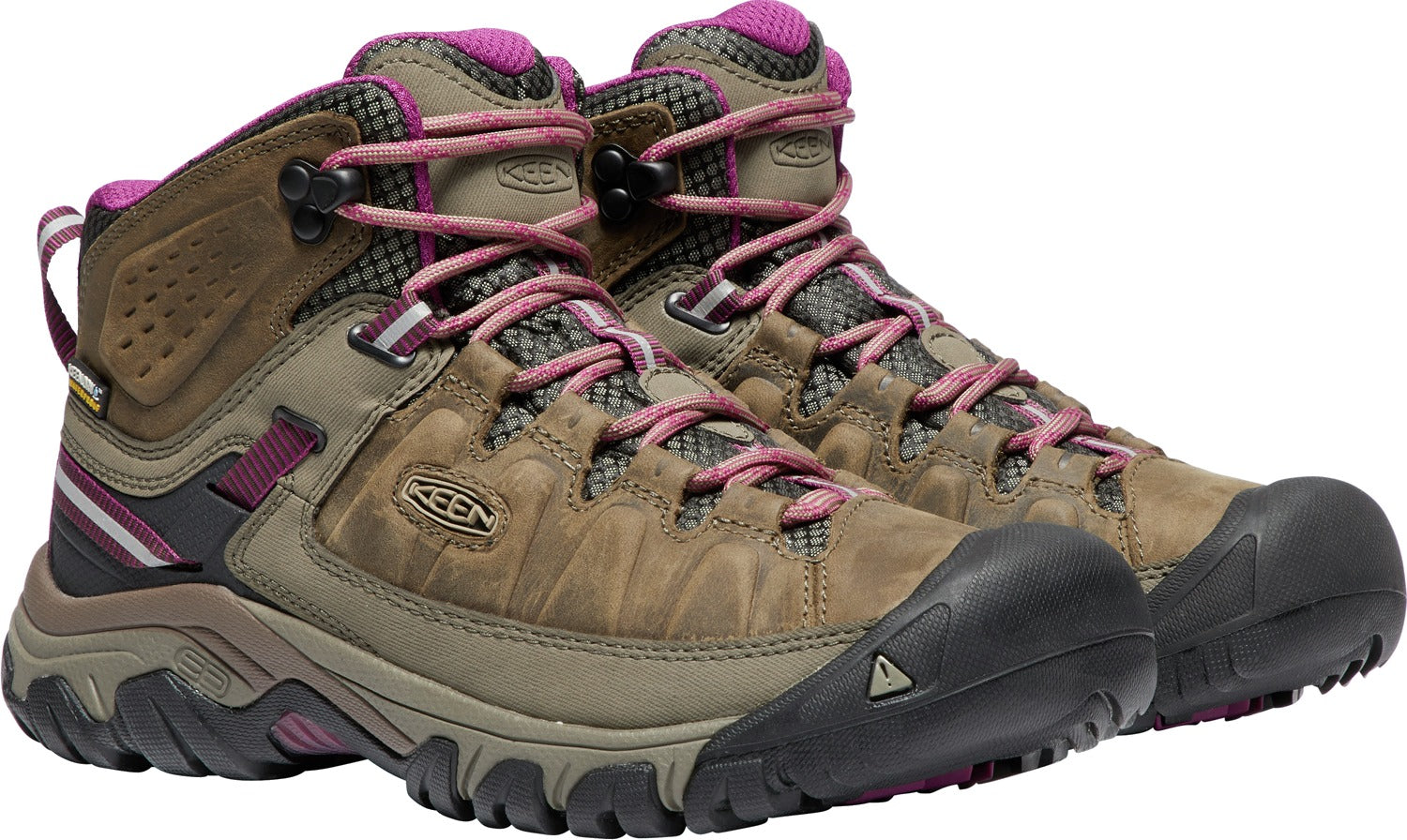 'Keen' Women's Targhee III Mid WP - Boysenberry