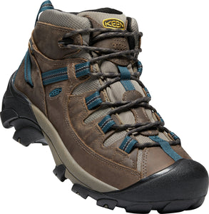 'Keen' Men's Targhee II Mid WP - Bungee Cord Brown / Legion Blue