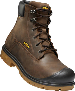 "Baltimore 6"" Steel Toe Boot - Brown / Black"