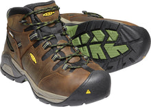 Detroit XT Mid Steel Toe Waterproof - Cascade Brown / Bronze Green