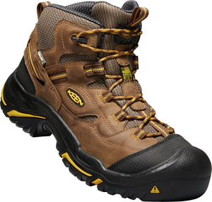 Braddock Mid Waterproof - Cascade Brown / Yellow / Black