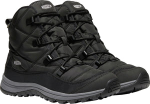 'Keen' 1021735 - Women's Terradora WP Ankle Boot - Black / Steel Grey