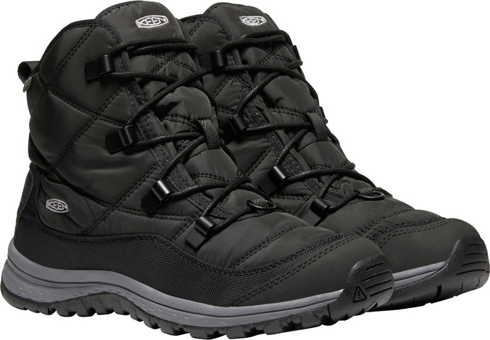 'Keen' Women's Terradora WP Ankle Boot - Black / Steel Grey
