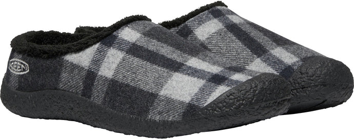 'Keen' Women's Howser Slide - Black Plaid / Black