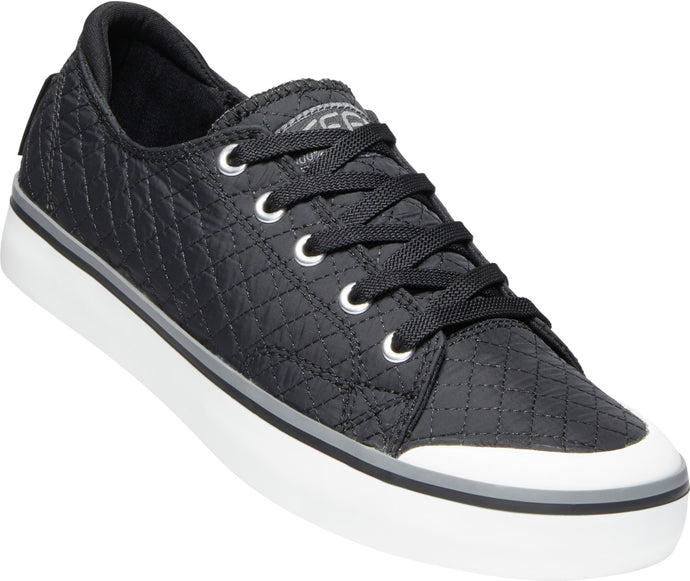 'Keen' Women's Elsa III Quilted Sneaker - Black / Star White