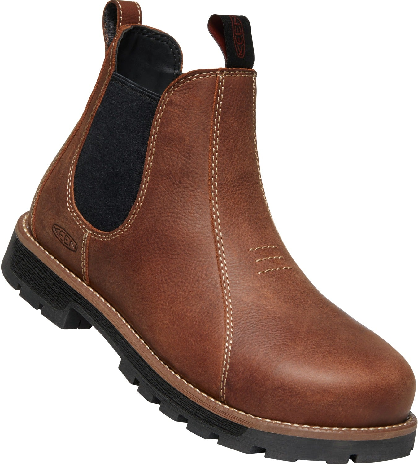 'Keen' 1022086 - Women's Seattle Romeo  ST EH Pull On - Gingerbread / Black