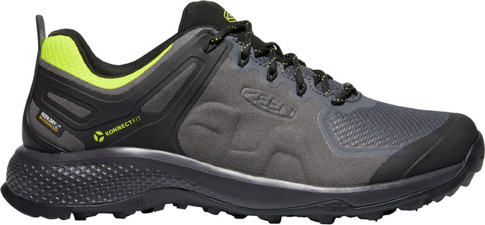 'Keen Outdoor' Men's Outdoor Explore WP - Magnet / Bright Yellow