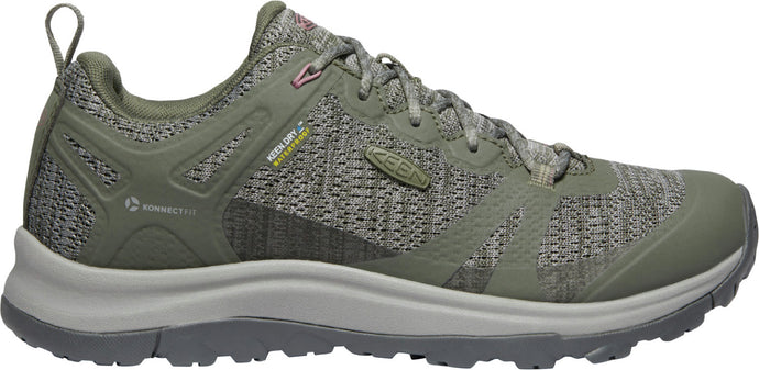 'Keen Outdoor' Women's Terradora II Low WP Hiker - Dusty Olive / Nostalgia Rose