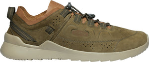 'Keen' Men's Highland Oxford Sneaker - Dark Olive / Plaza Taupe