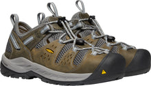'Keen' Women's Atlanta Cool II ESD Steel Toe - Gargoyle / Blue Fog