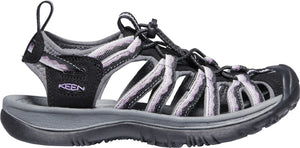 'Keen' Women's Whisper Sandal - Black / Thistle
