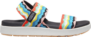 'Keen Outdoor' Women's Elle Backstrap Sandal - Black / Peach Pearl
