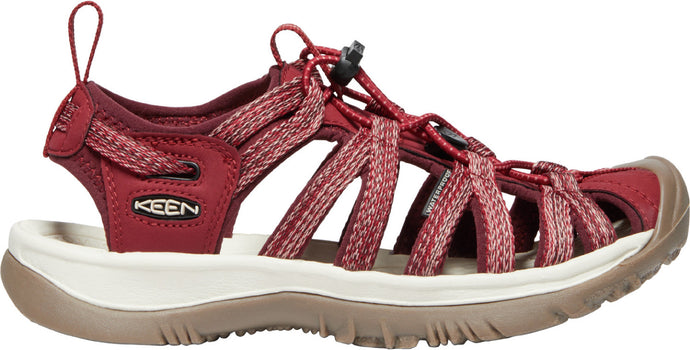 'Keen' Women's Whisper Sandal - Red Dahlia