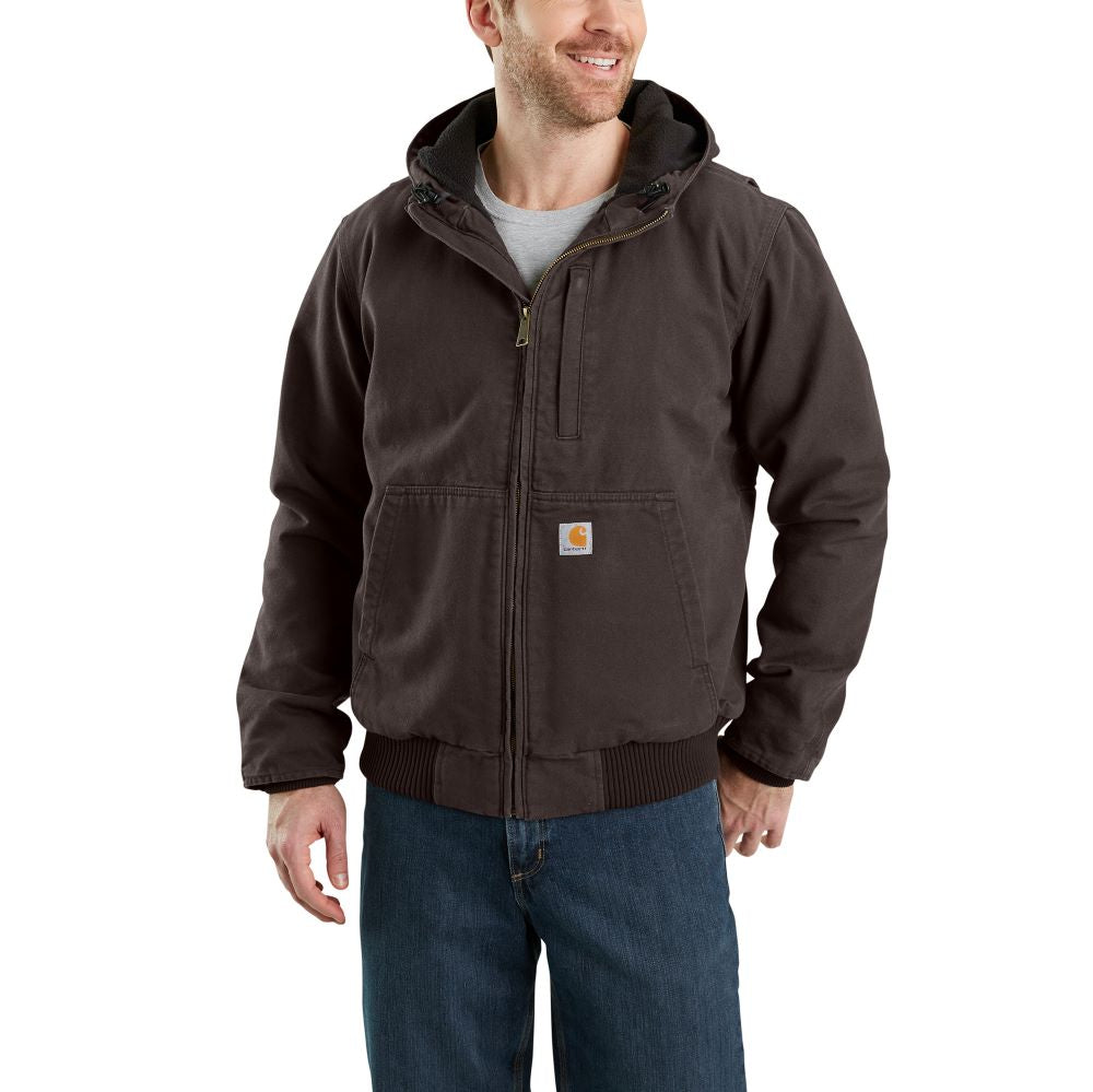 'Carhartt' Men's Full Swing® Armstrong Active Jac - Dark Brown