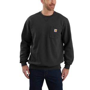 'Carhartt' Men's Crewneck Pocket Sweatshirt - Black