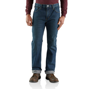 'Carhartt' Men's Rugged Flex Relaxed Knit Lined Straight Jean - Superior