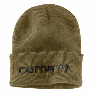 'Carhartt' Men's Insulated Cuffed Beanie - Military Olive