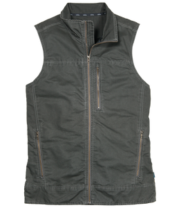 'Kuhl' Burr Vest - Gun Metal Green