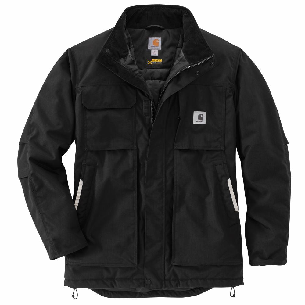 'Carhartt' Men's Yukon Extremes®Full Swing® Insulated Coat - Black