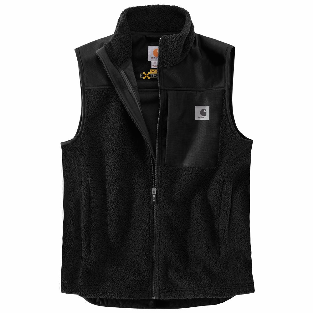 'Carhartt' Men's Yukon Extreme Wind Fighter Fleece Vest - Black
