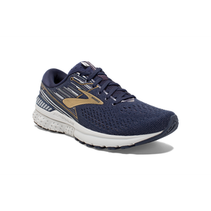 'Brooks' 110294 439 - Men's Adrenaline GTS - Navy / Gold