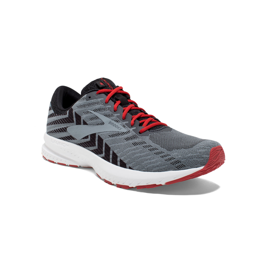 Launch 6 - Gray / Red / Black