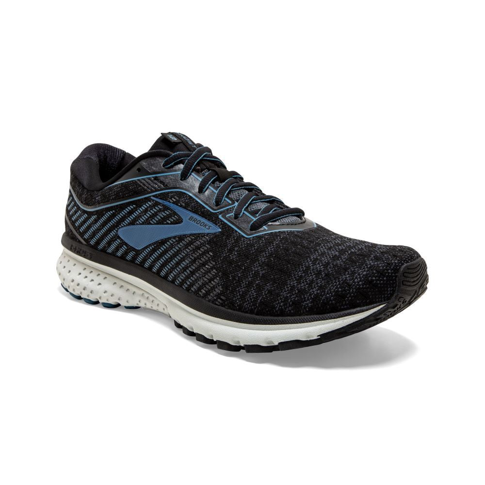 'Brooks' Men's Ghost 12 - Black / Grey / Stellar
