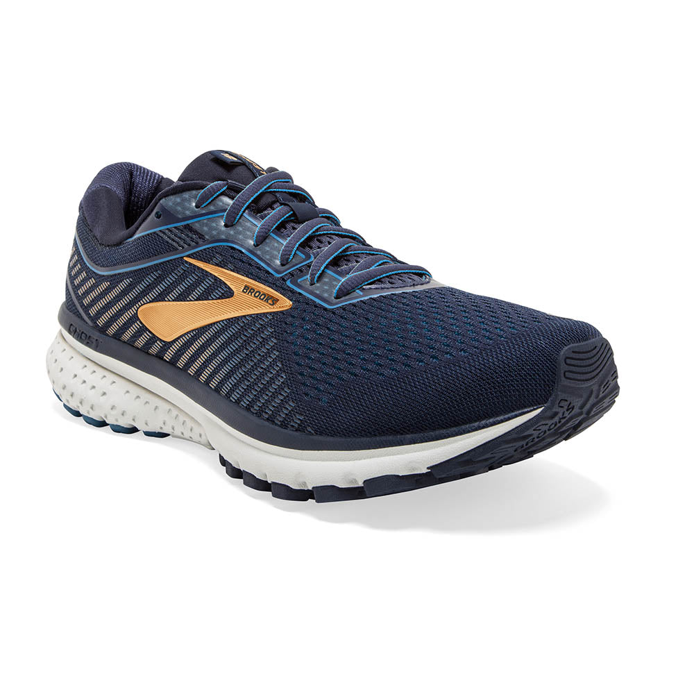 'Brooks' 110316 489 - Men's Ghost 12 - Navy / Deep Water / Gold