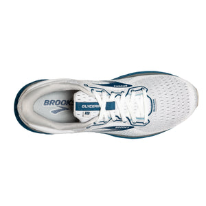 'Brooks' Men's Glycerin 18 - White / Grey / Poseidon
