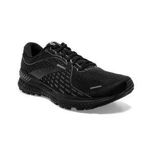 'Brooks' Men's Adrenaline GTS 21 - Black / Black / Ebony