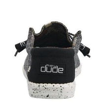 'Hey Dude' Men's Wally Sox Classic - Black / White