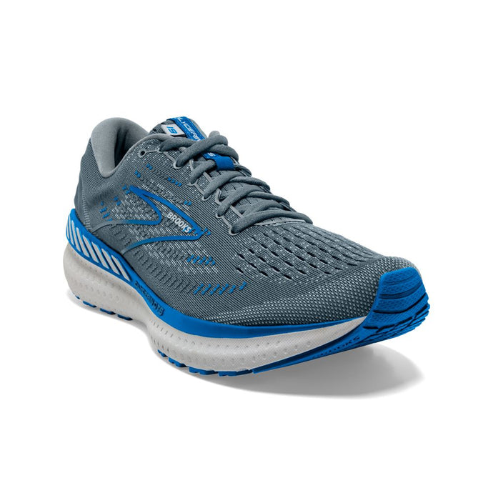 'Brooks' Men's Glycerin GTS 19 - Quarry / Grey / Dark Blue