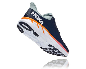 'HOKA' Women Clifton 7 - Black Iris / Blue Haze (Wide)