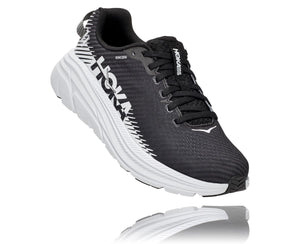 'HOKA' Women's Rincon 2 - Black / White