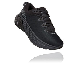 'HOKA' Men's Gaviota 3 - Black / Black