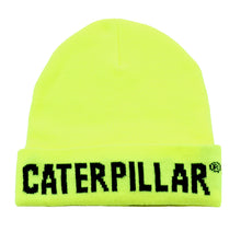 'Caterpillar' Men's Flashlight Insulated Beanie - Hi-Vis Yellow