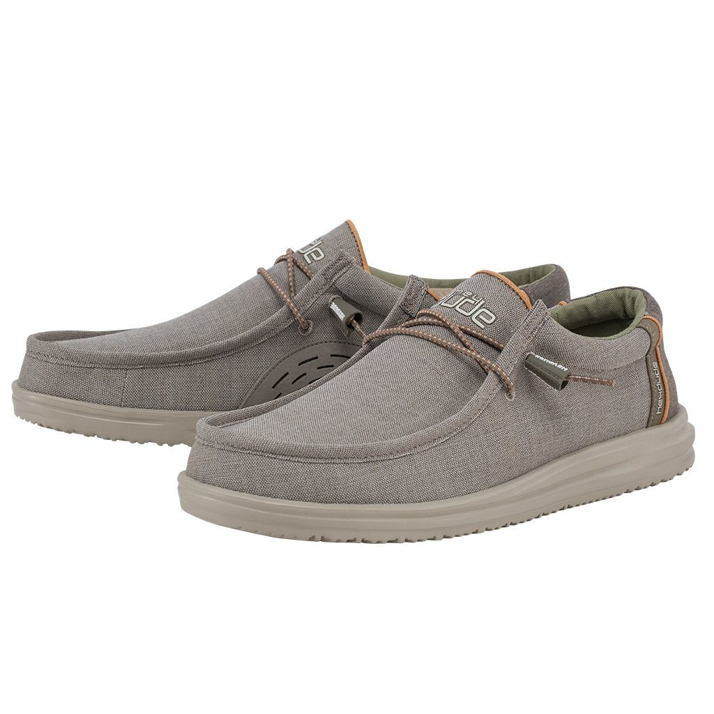 'Hey Dude' Men's Wally Free Slip On - Sahara