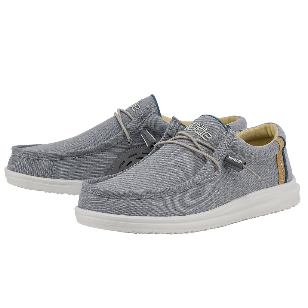 'Hey Dude' Men's Wally Free Slip On - Ash