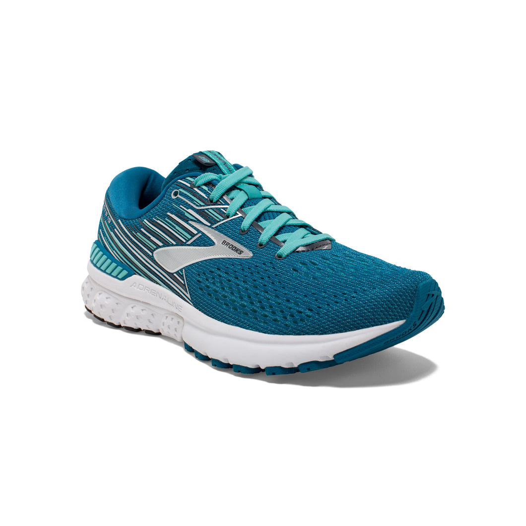 'Brooks' Women's Adrenaline GTS 19 - Turquoise / Silver