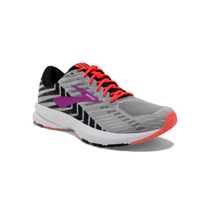 Launch 6 - Gray / Black / Salmon / Magenta