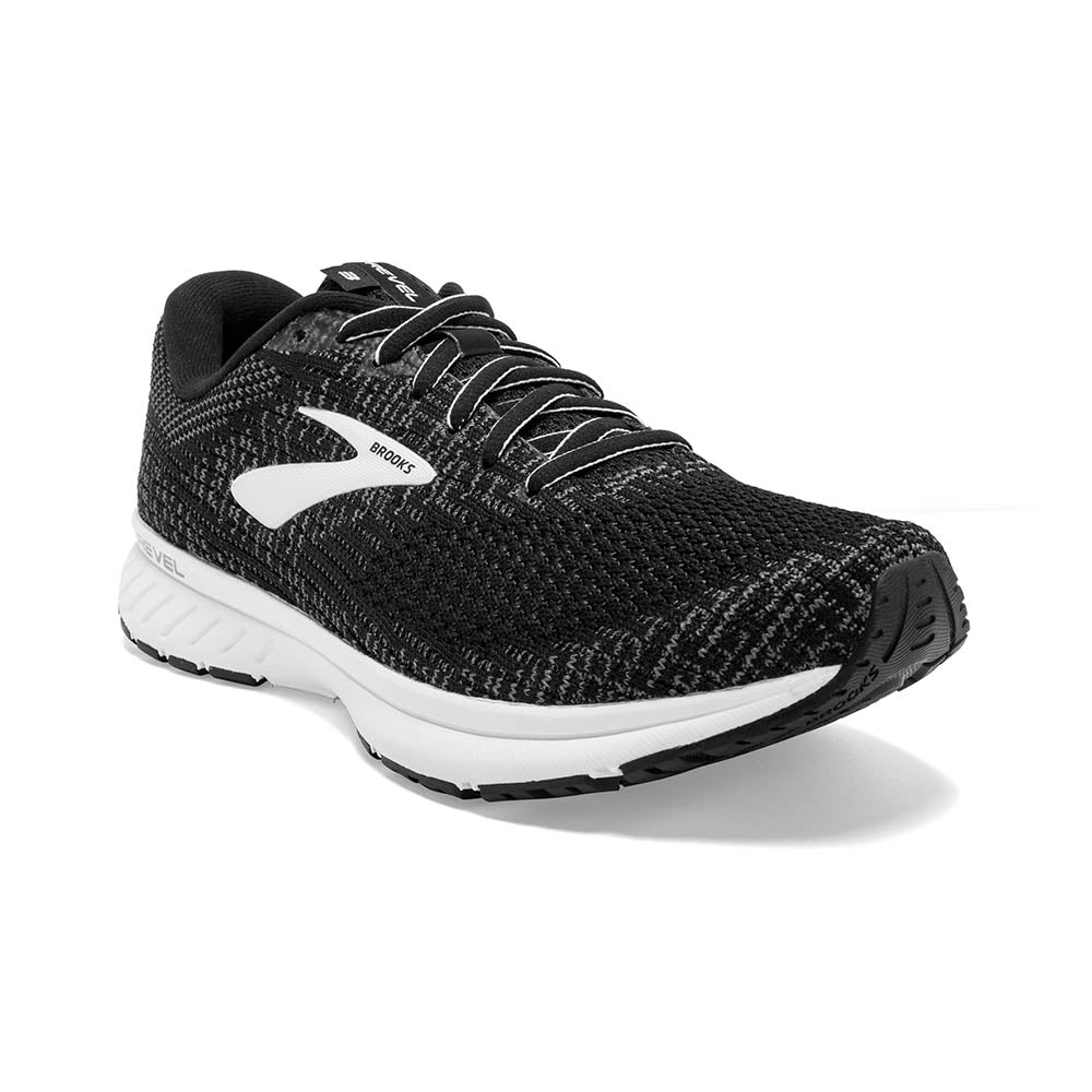 'Brooks' 120302 012 - Women's Revel 3 - Black / Pearl / White