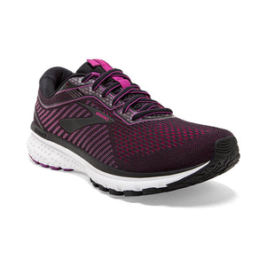 'Brooks' 120305 063 - Women's Ghost 12 - Black / Hollyhock / Pink