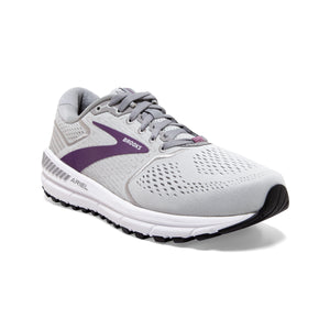 'Brooks' Women's Ariel 20 - Oyster / Alloy / Grape