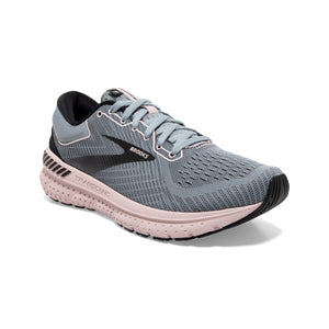 'Brooks' Women's Transcend 7 - Grey / Black / Hushed Violet