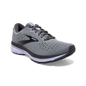 'Brooks' Women's Ghost 13 - Grey / Blackened Pearl / Purple