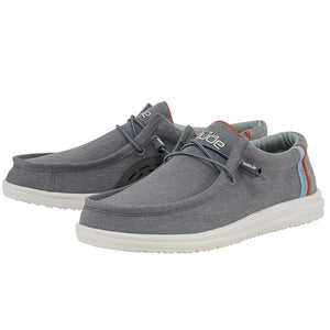 'Hey Dude' Men's Wally Free Slip On - Granite