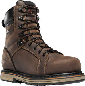 "'Danner' Men's 8"" Steel Yard EH WP Steel Toe - Brown"
