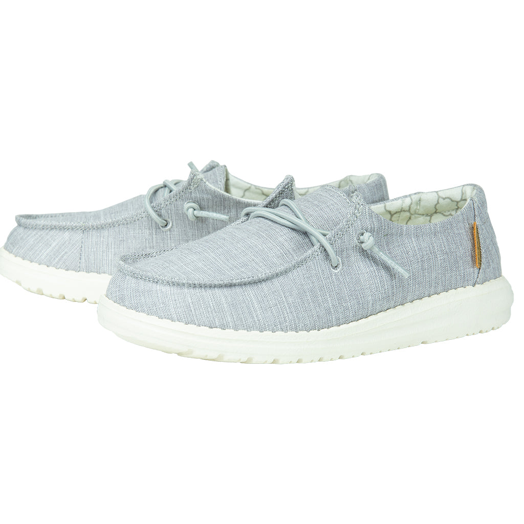'Hey Dude' Wendy Youth Linen - Linen Grey