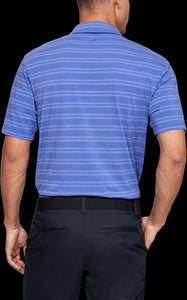 'Under Armour' 1323455 510 - Scramble Stripe Polo - Tempest