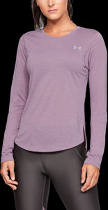 'Under Armour' 1326501 521 - Streaker 2.0 LS Top - Purple Prime